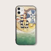 Beach Pattern iPhone Case