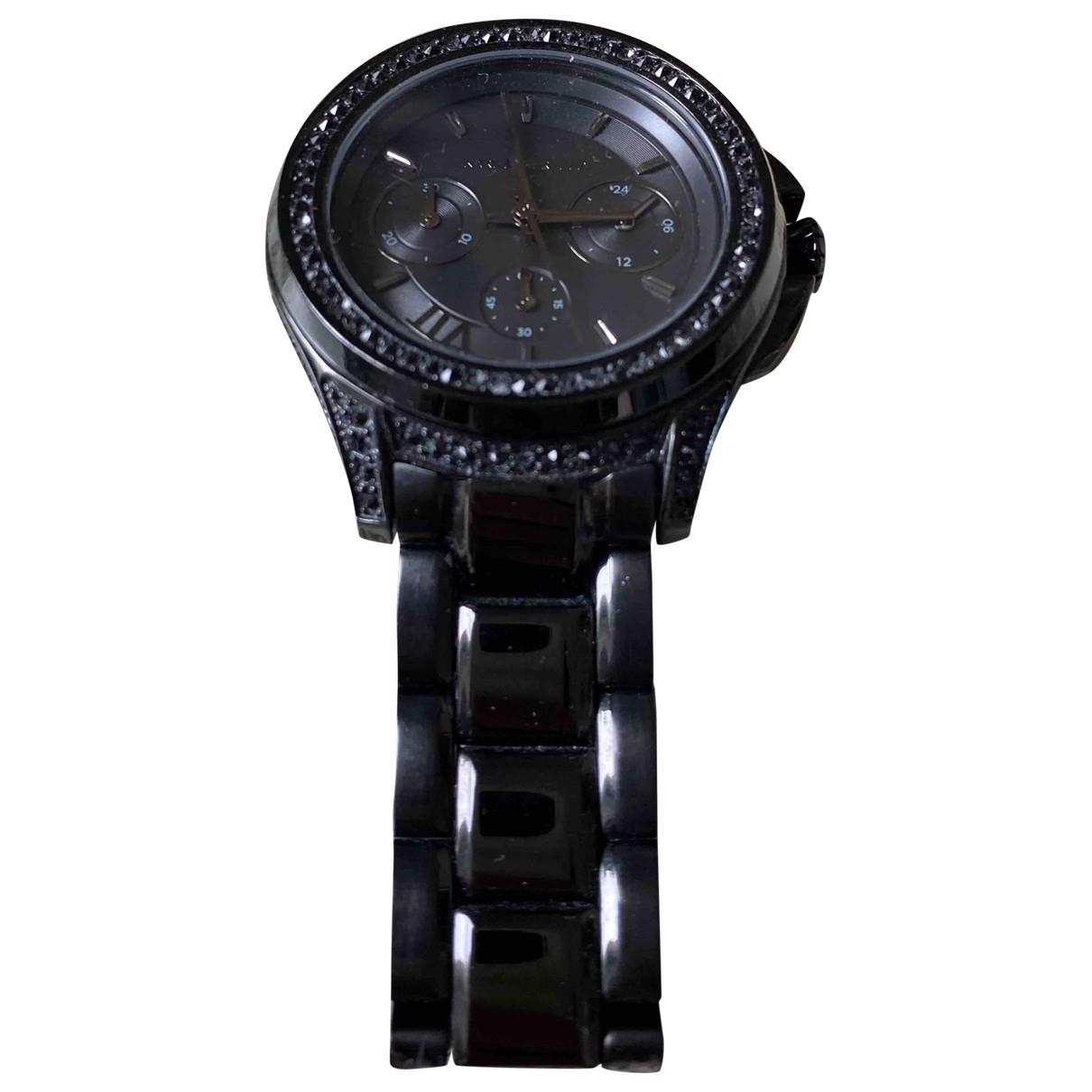 Karl Lagerfeld \N Uhr in  Schwarz Stahl