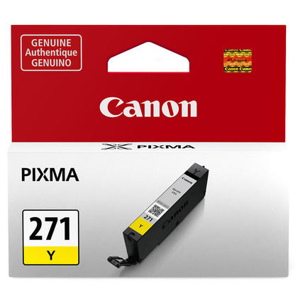 Canon CLI-271Y 0393C001 Original Yellow Ink Cartridge