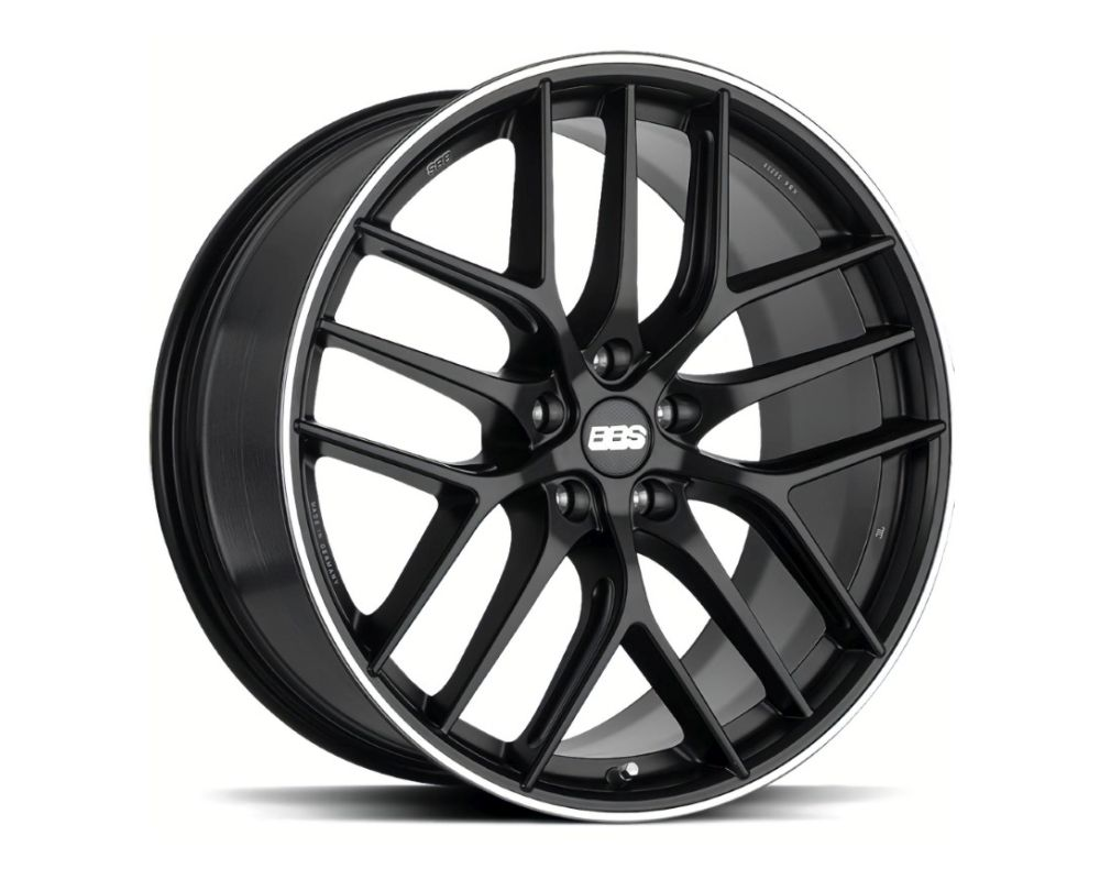 BBS CC-R Wheel 19x8 5x108 45mm Black Center | Polished Rim