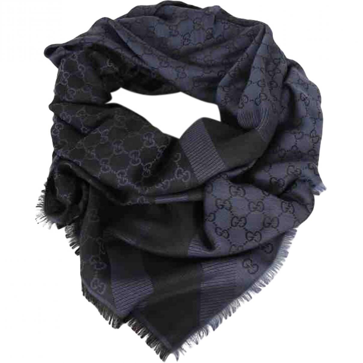 Gucci - Petite maroquinerie   pour homme en laine - bleu