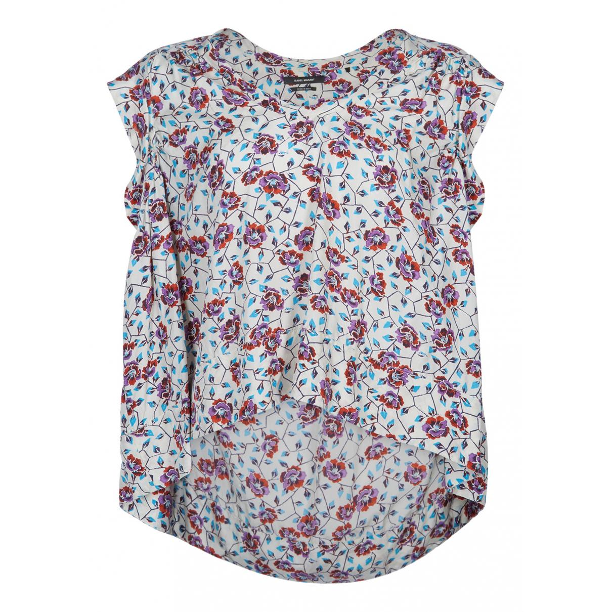 Isabel Marant N Multicolour Silk  top for Women 14 UK