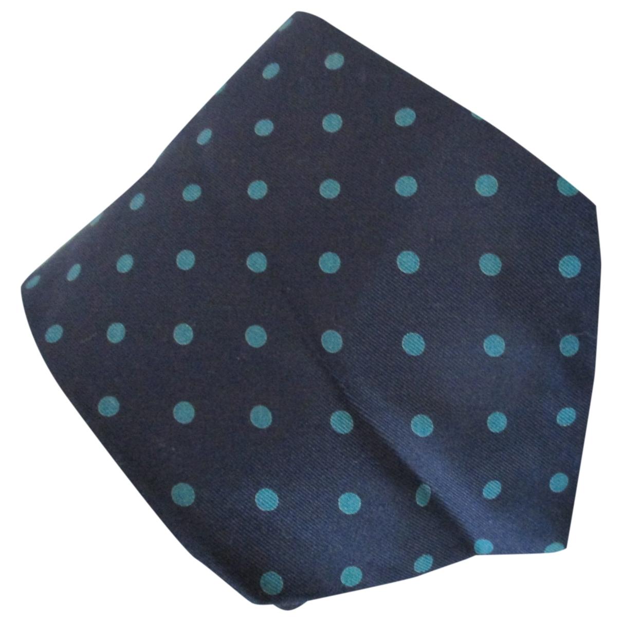 Boggi \N Krawatten in  Bunt Seide