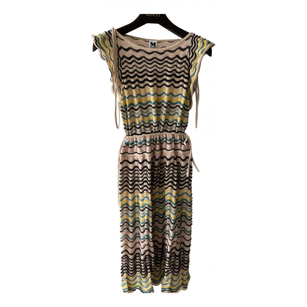 M Missoni N Metallic Cotton - elasthane dress for Women 46 IT
