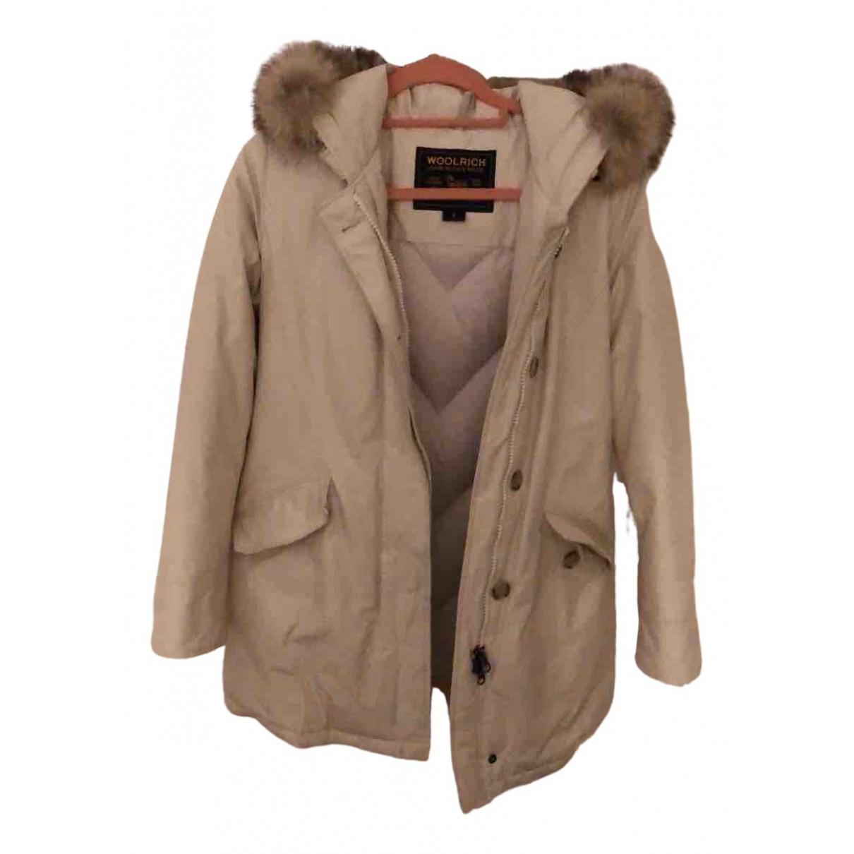 Woolrich N Beige Cotton coat for Women S International