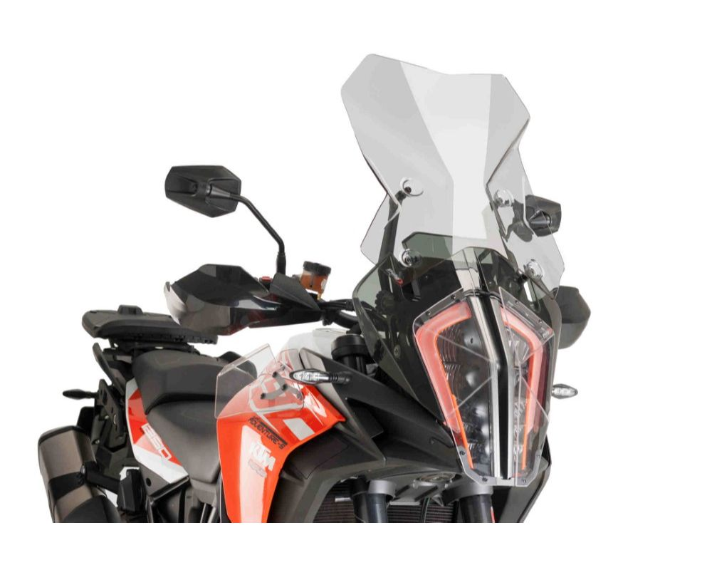 Puig 9717H Touring Windscreen - Light Smoke KTM 1290 Super Adventure R 2017