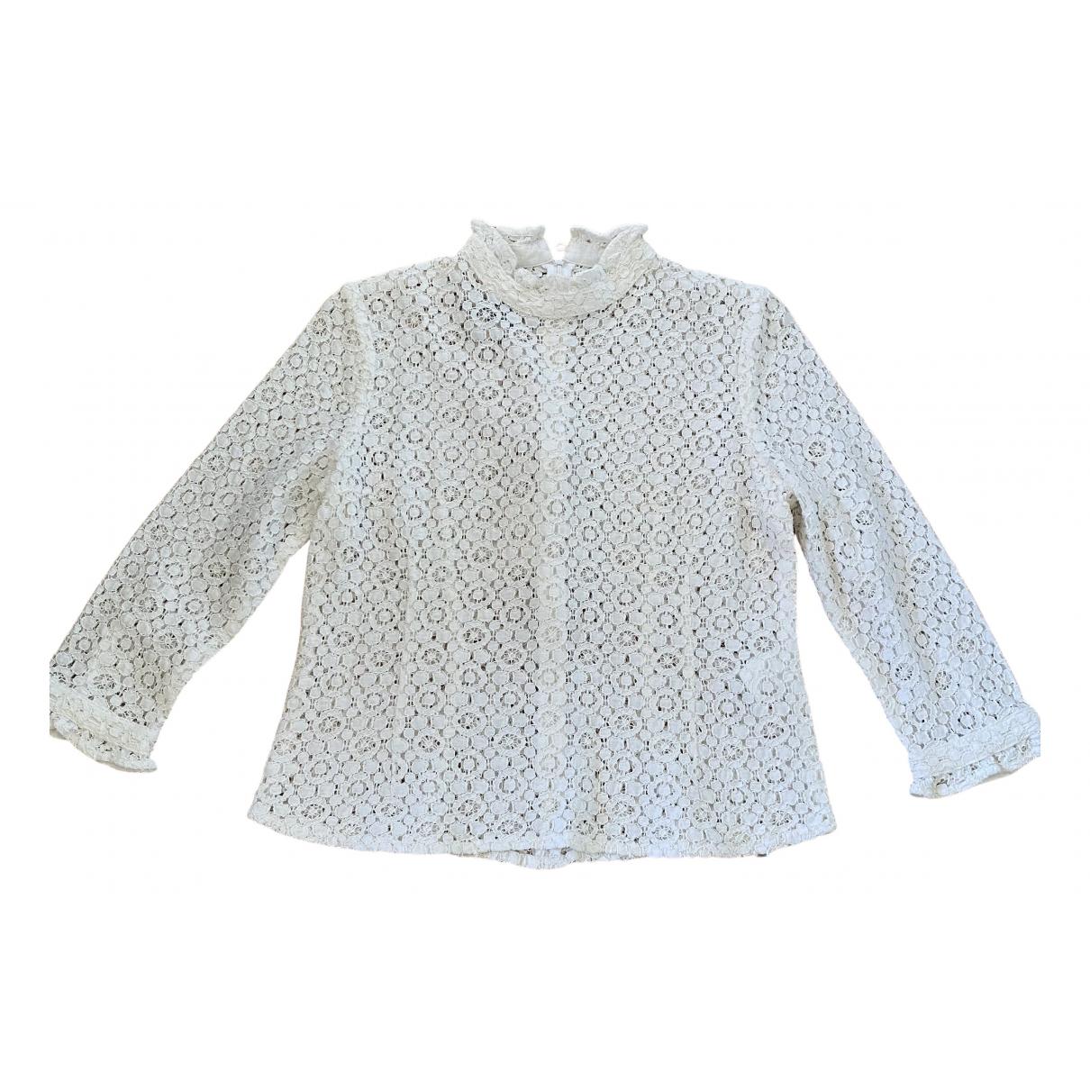 Baum Und Pferdgarten N White Cotton  top for Women 36 FR