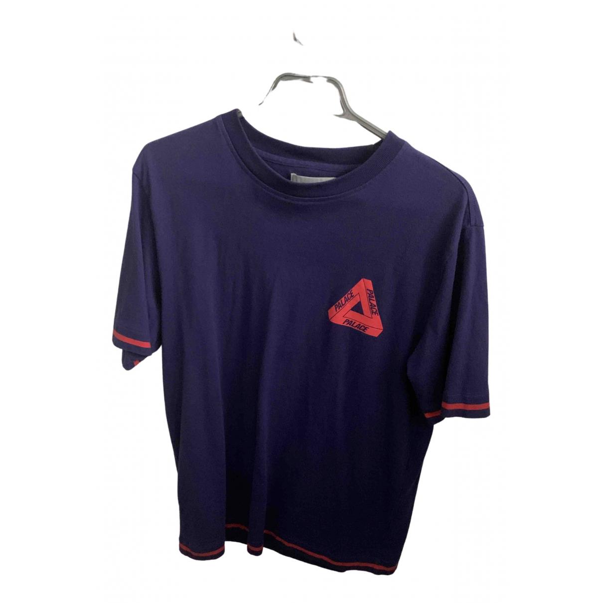 Palace N Purple Cotton T-shirts for Men M International