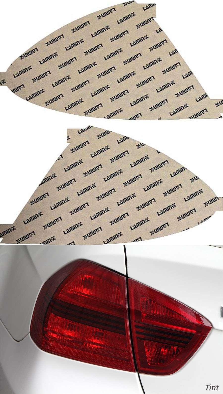 Mercedes E-Class 07-09 Tint Tail Light Covers Lamin-X MB220T