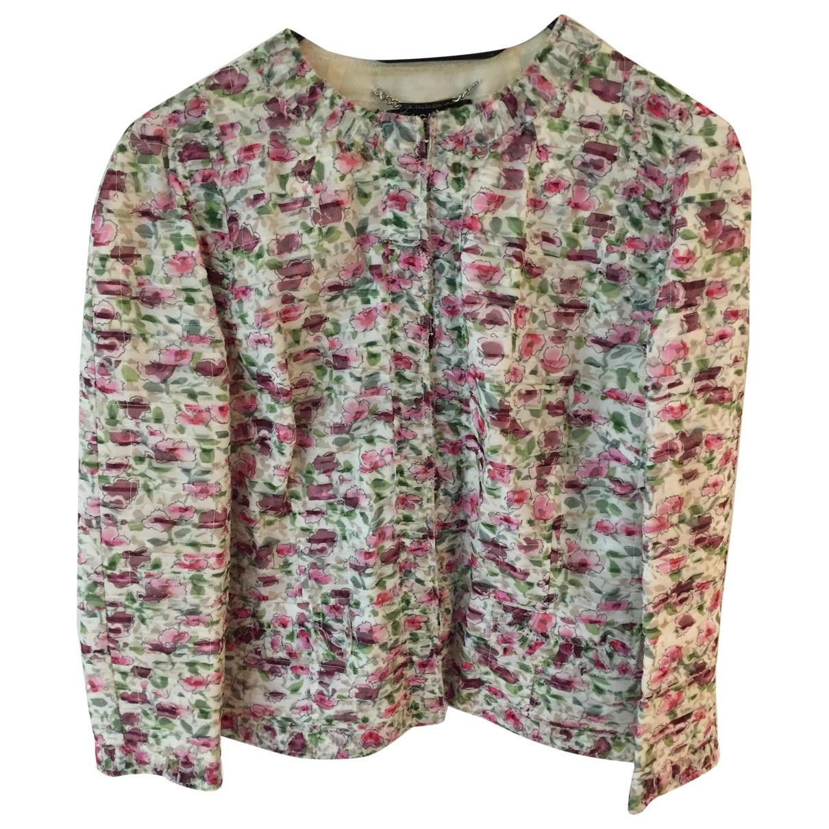 Dolce & Gabbana - Veste   pour femme en soie - multicolore
