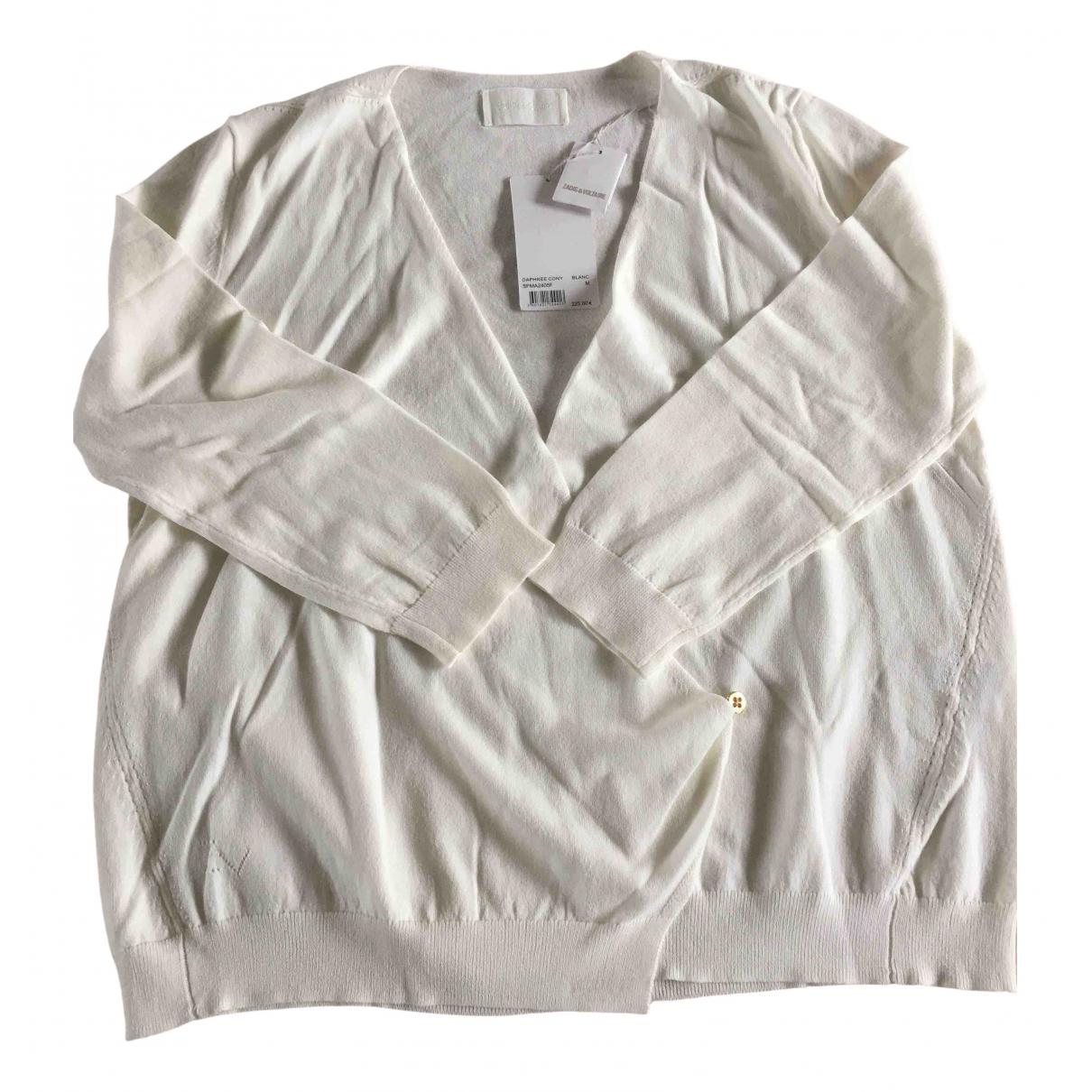 Zadig & Voltaire \N Ecru Cotton Knitwear for Women M International