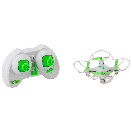 Sky Rider DR108W Micro Quadcopter Drone, One Size , White