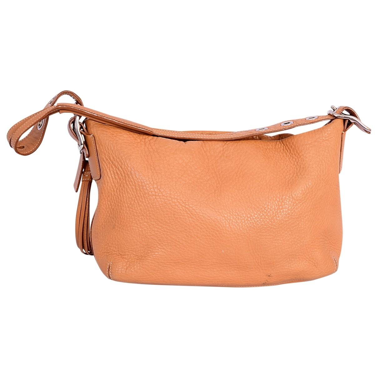 Coach \N Camel Leather handbag for Women \N