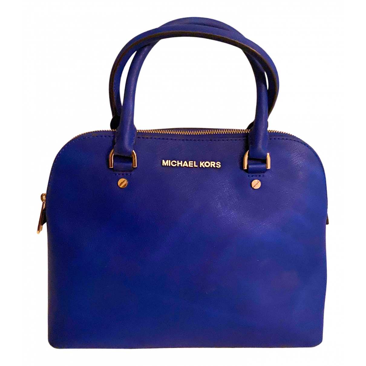 Michael Kors Cindy Blue Leather handbag for Women N