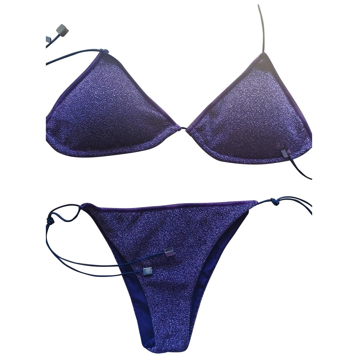 - Bain   pour femme en lycra - violet