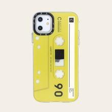 1pc Audio Cassette Design iPhone Case