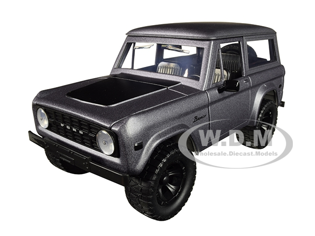 1973 Ford Bronco Matt Gray with Black Top