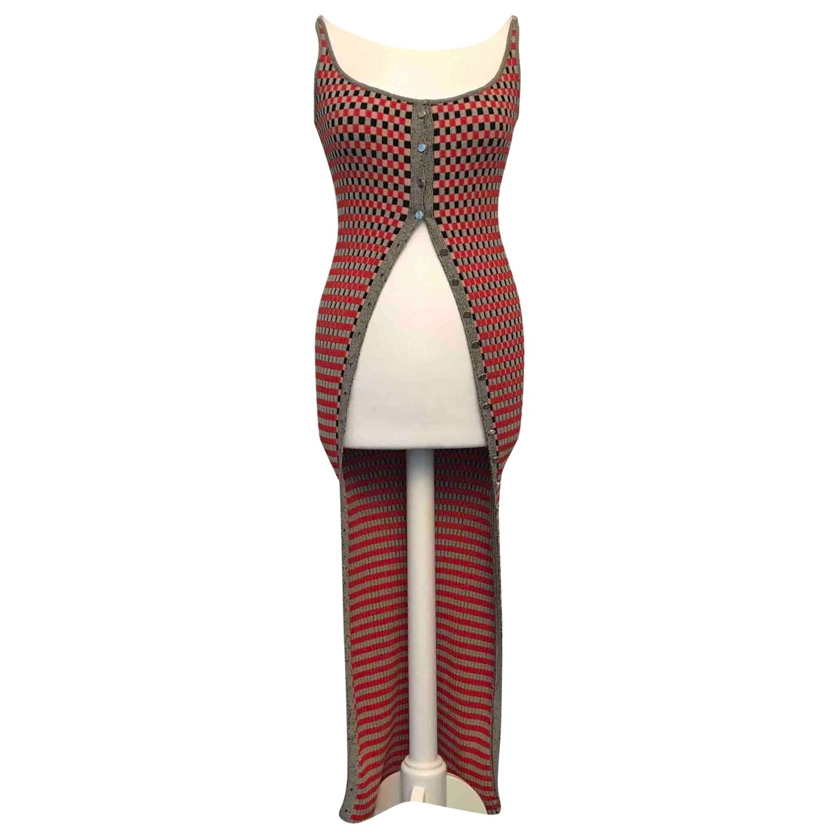 Maxi vestido Paco Rabanne