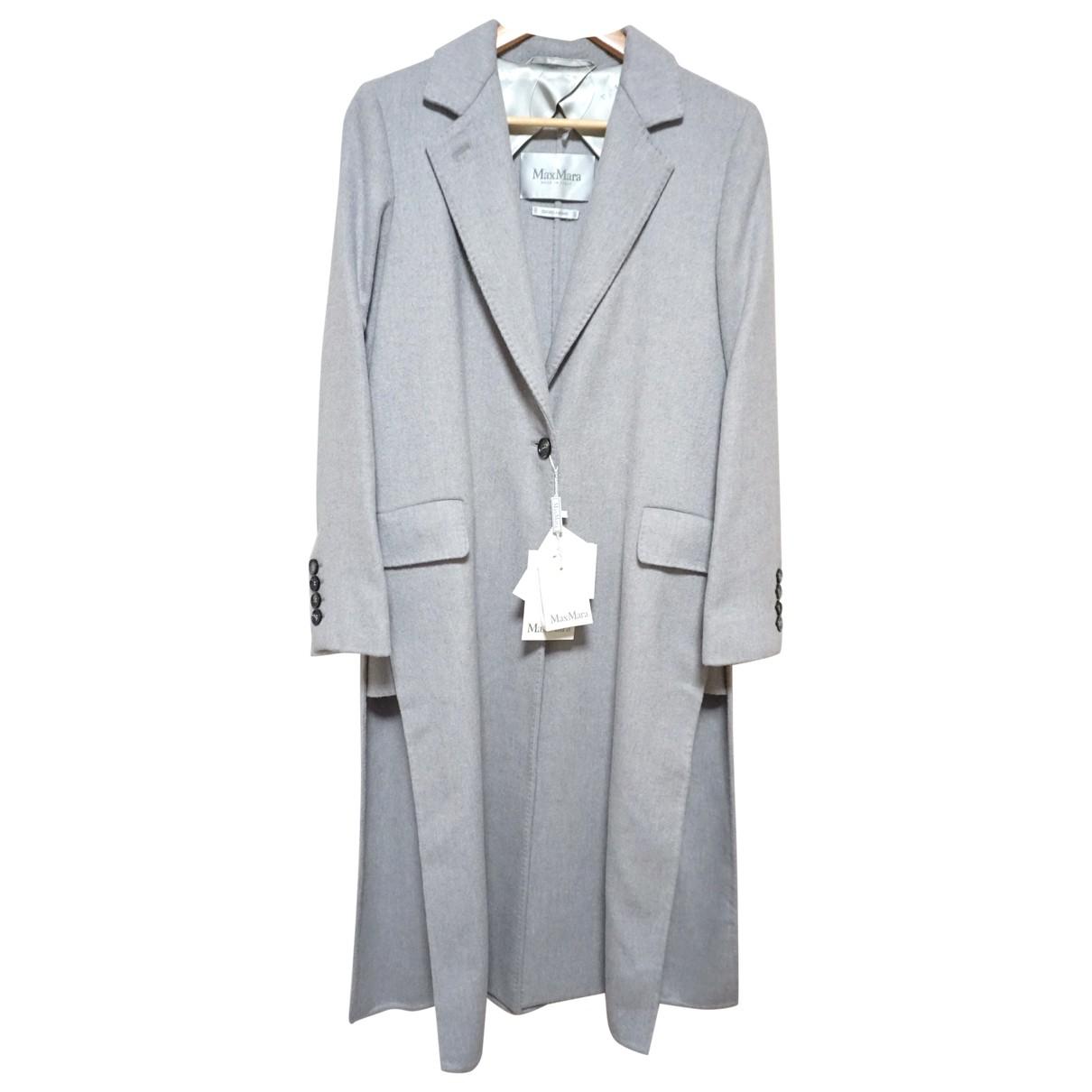 Max Mara - Manteau   pour femme en laine - gris
