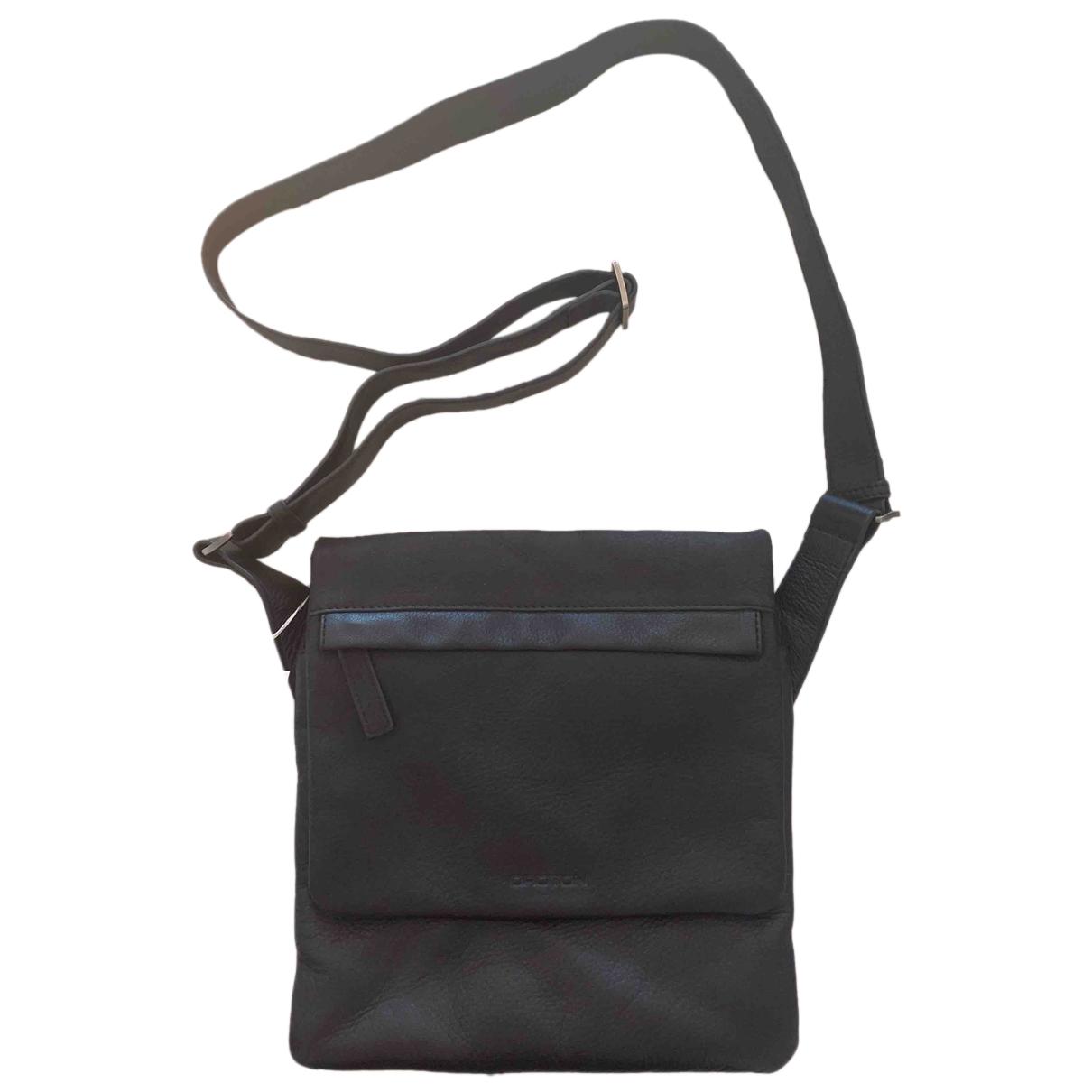 Oroton - Petite maroquinerie   pour homme en cuir - noir