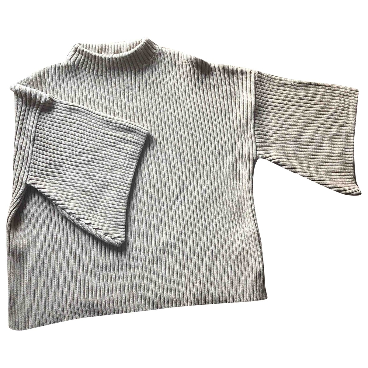 - Pull Oversize pour femme en coton - beige