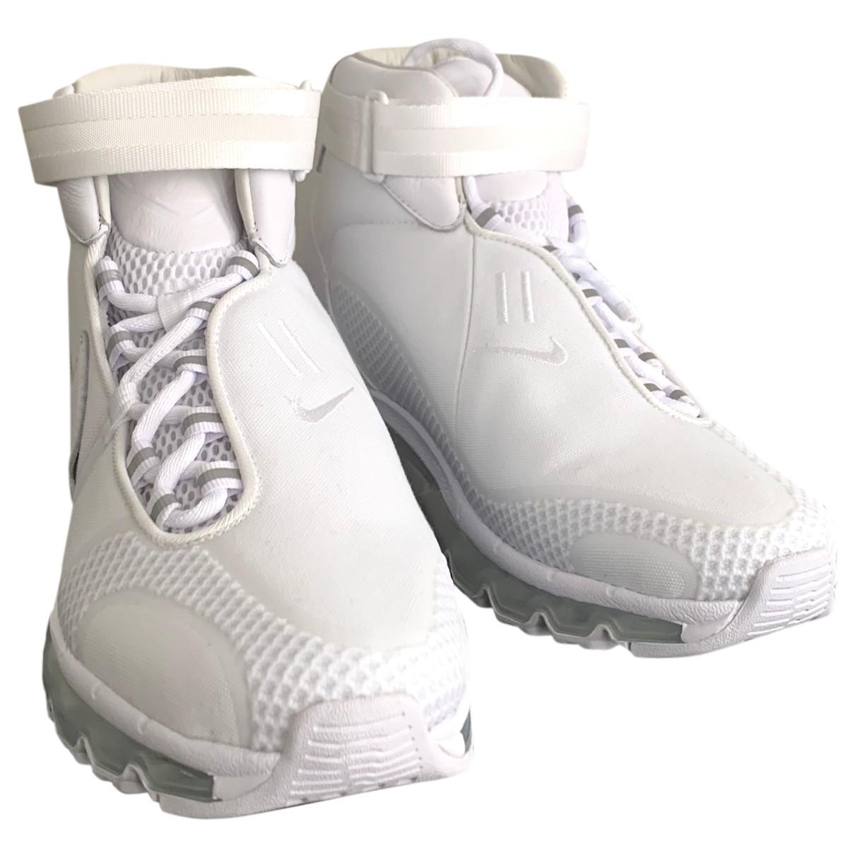 Nike - Baskets Air Max  pour homme en toile - blanc