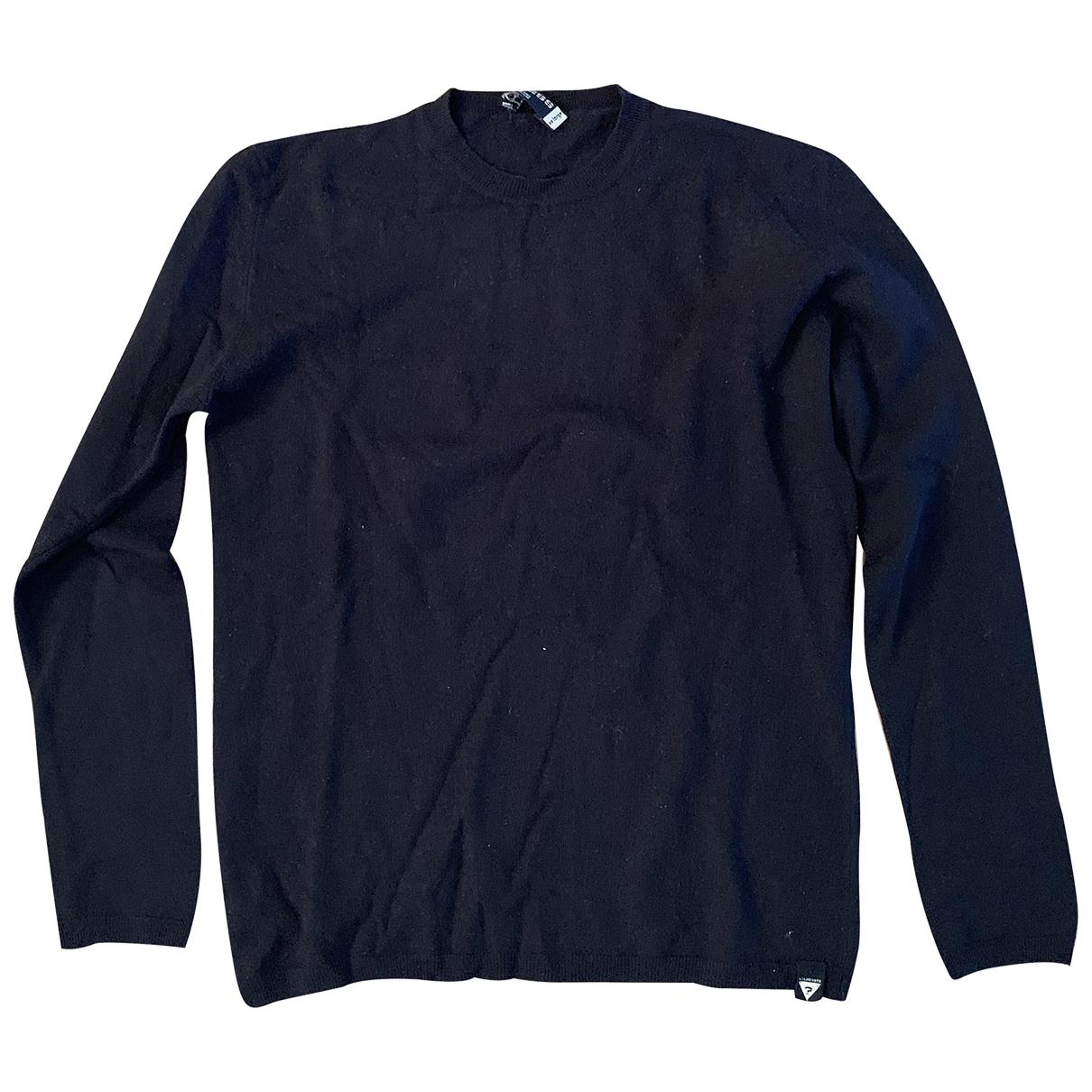 Guess - Pulls.Gilets.Sweats   pour homme en laine - noir