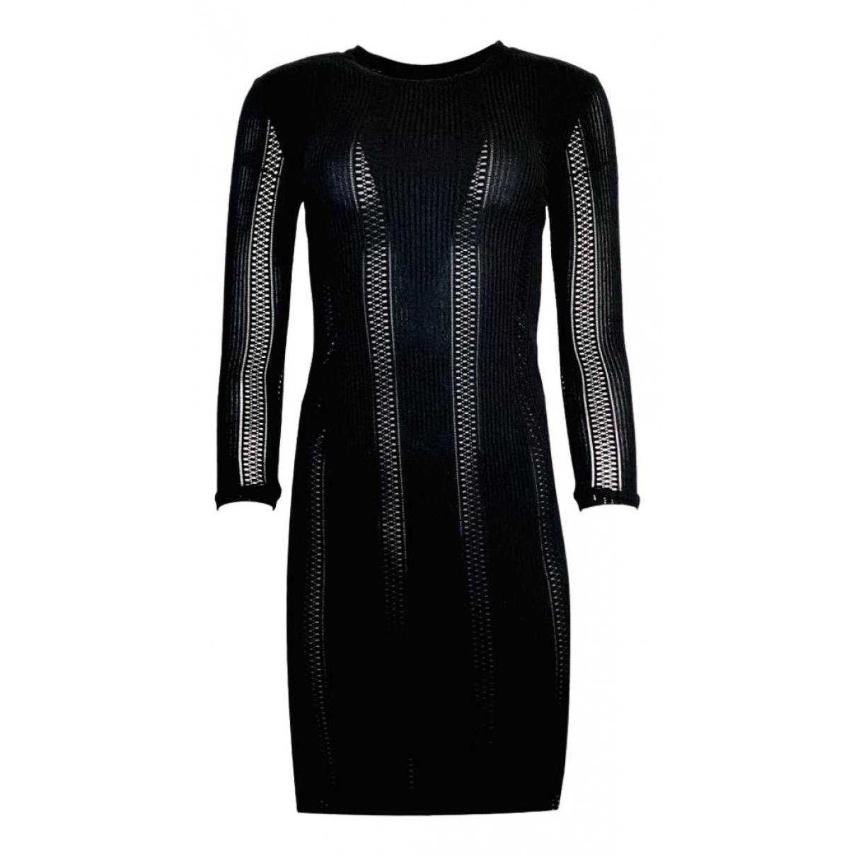 Rag & Bone \N Kleid in  Schwarz Synthetik