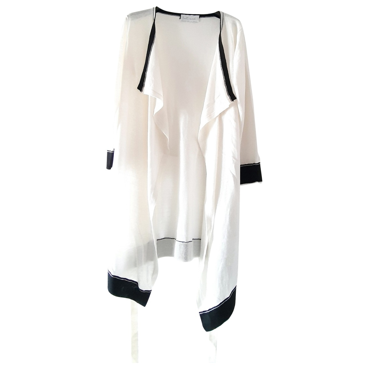 Non Signé / Unsigned \N White Silk Knitwear for Women S International