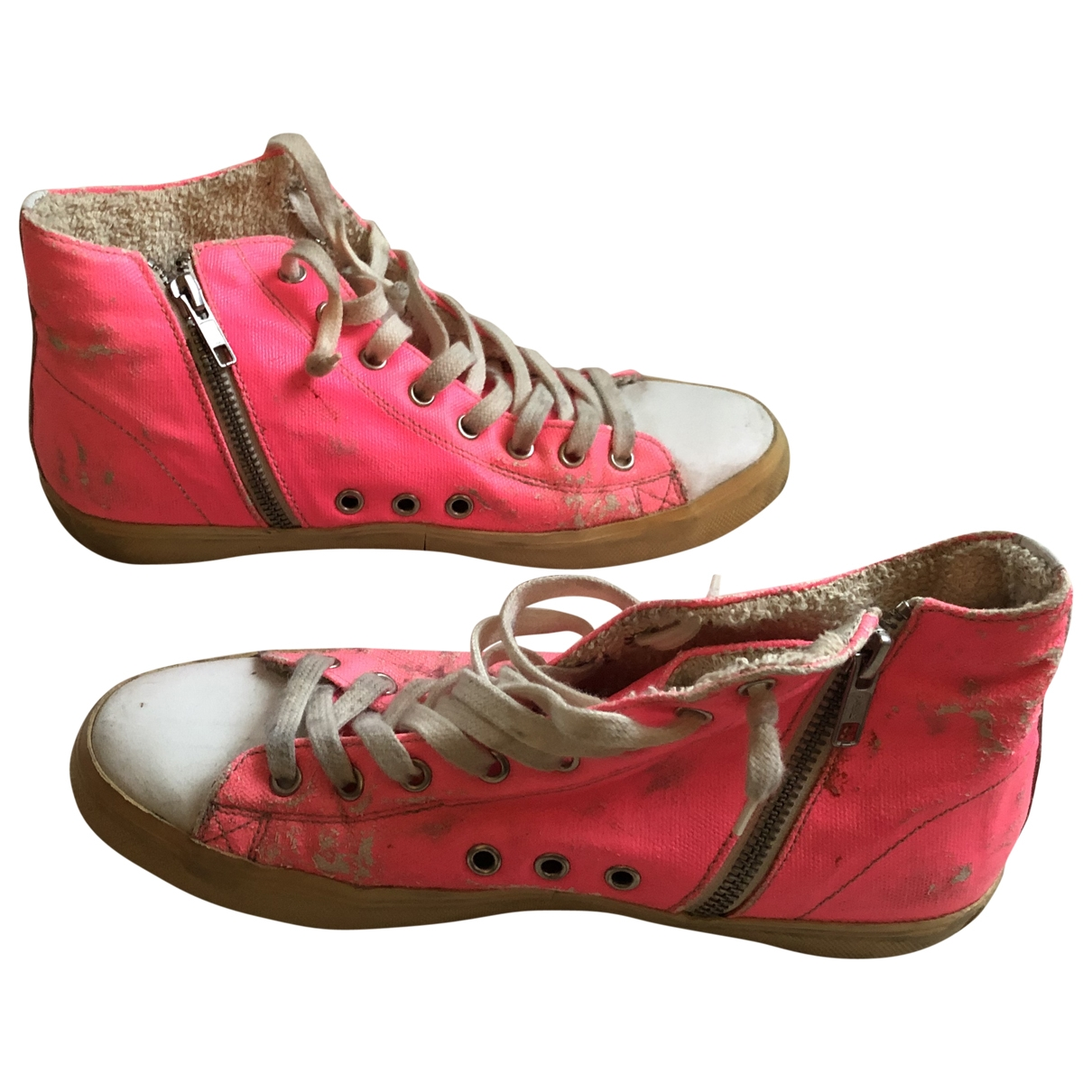 Leather Crown - Baskets   pour femme - rose