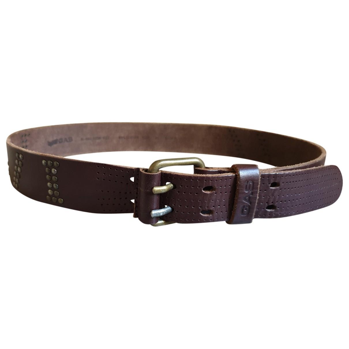 Cinturon de Cuero Gas