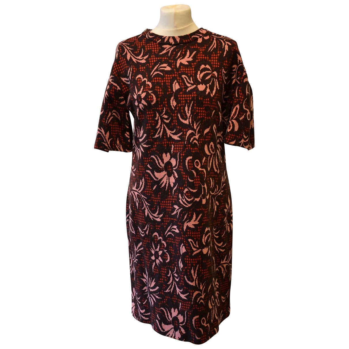 Pinko \N Kleid in  Orange Wolle