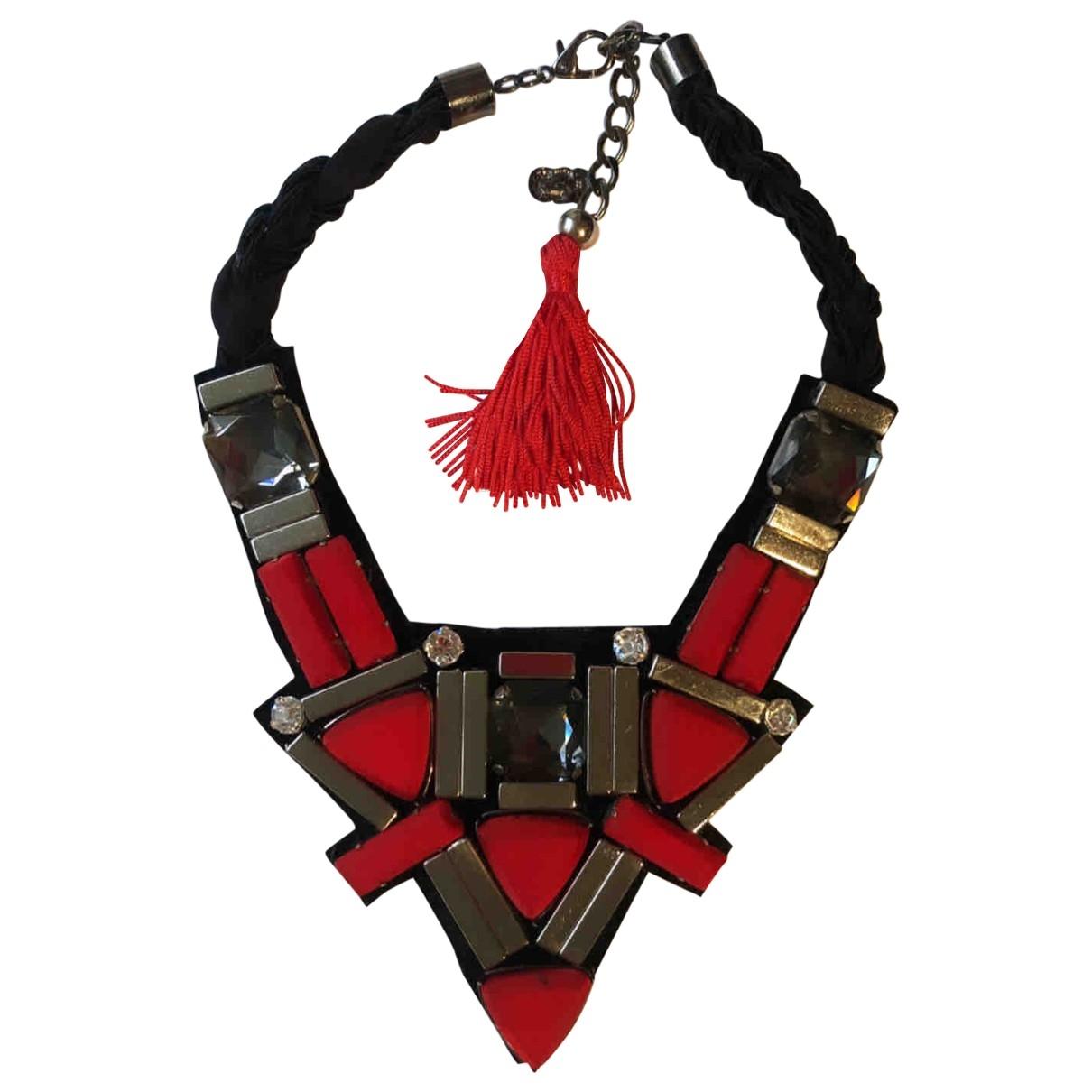 Virzi + De Luca - Collier   pour femme en cristal - rouge