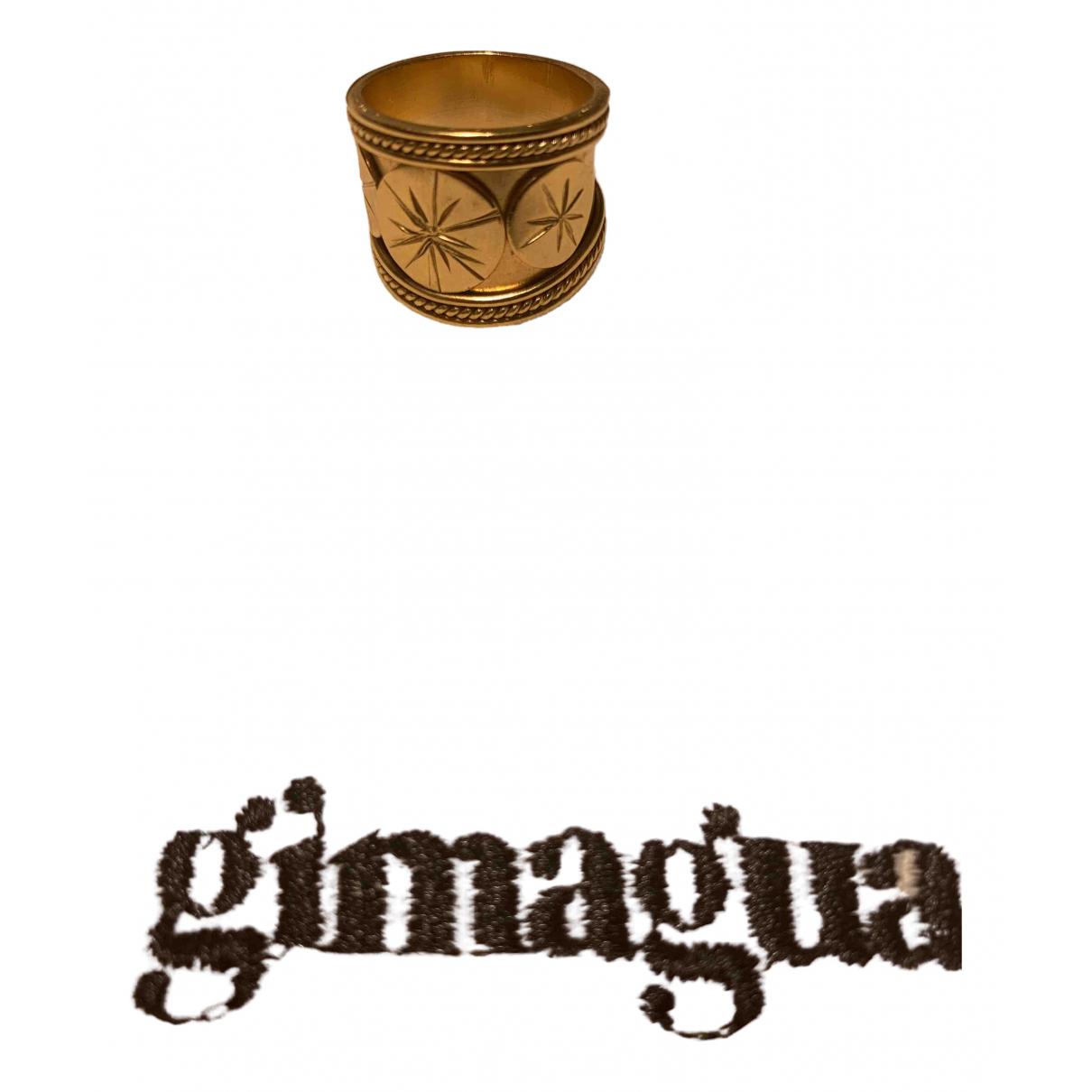 Gimaguas \N Ring in  Gold Vergoldet