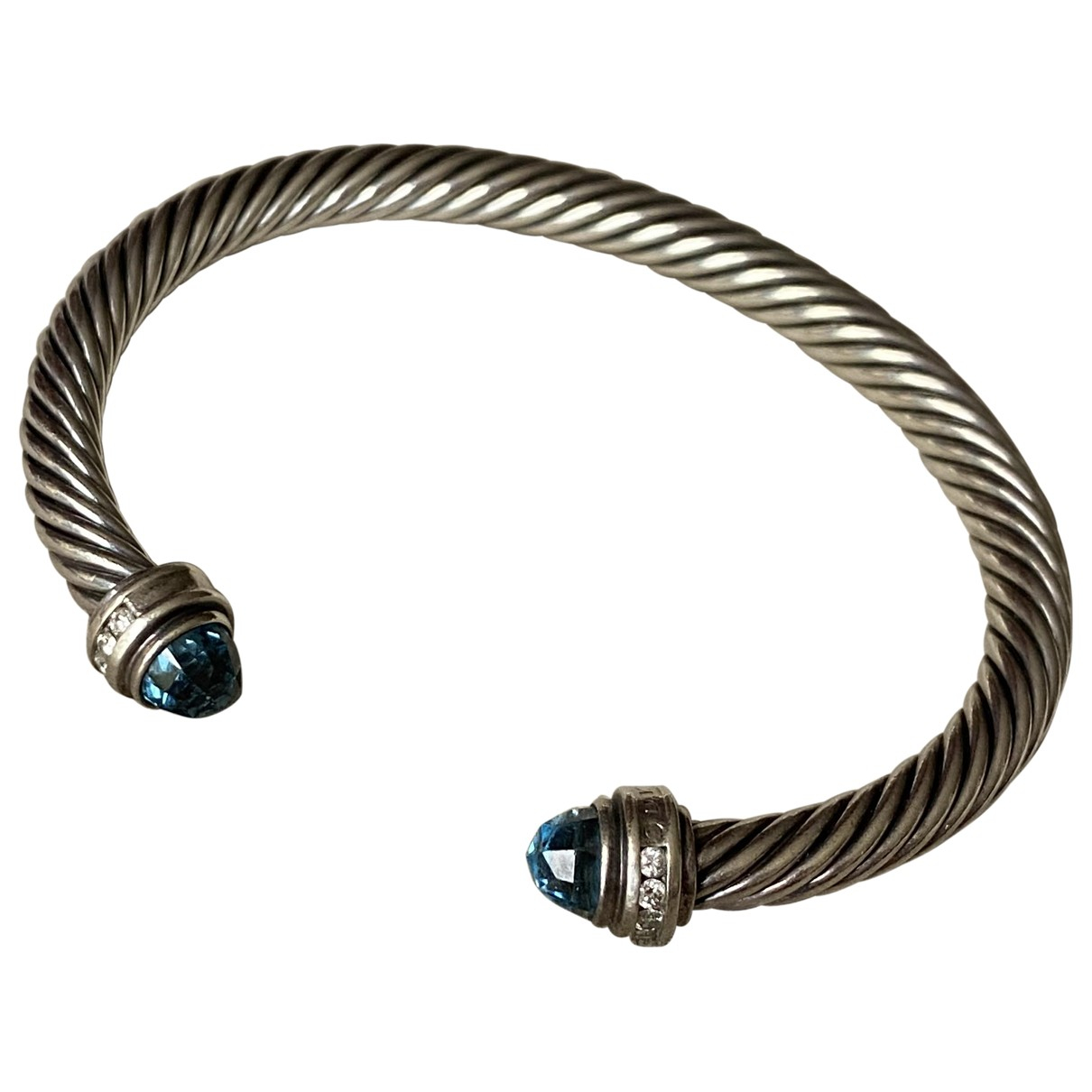David Yurman \N Armband in  Blau Silber