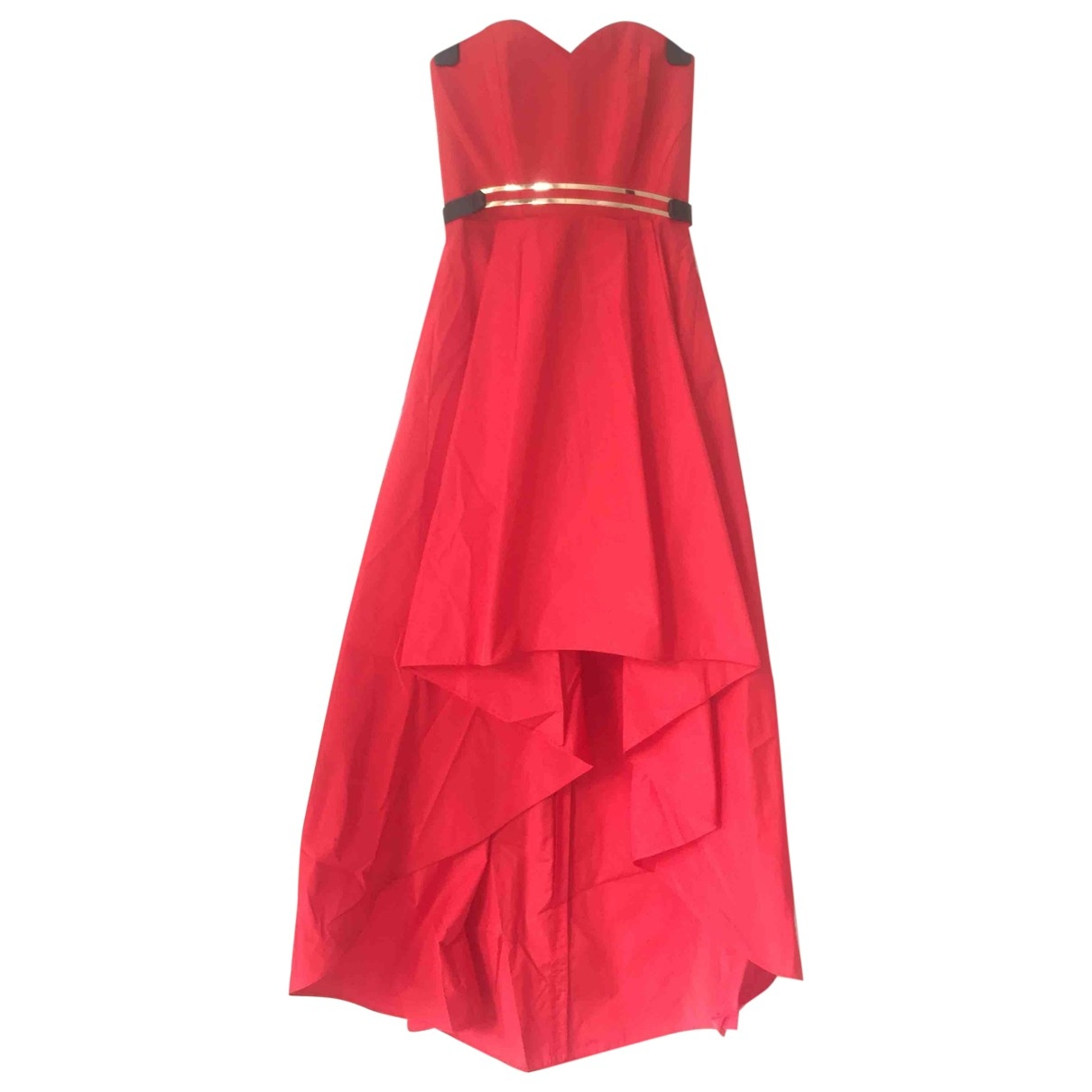 Pinko \N Kleid in  Rot Polyester
