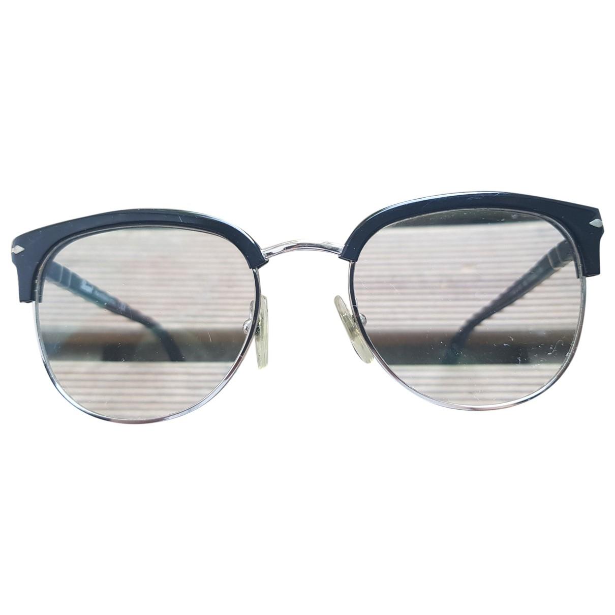 Persol \N Black Metal Sunglasses for Men \N