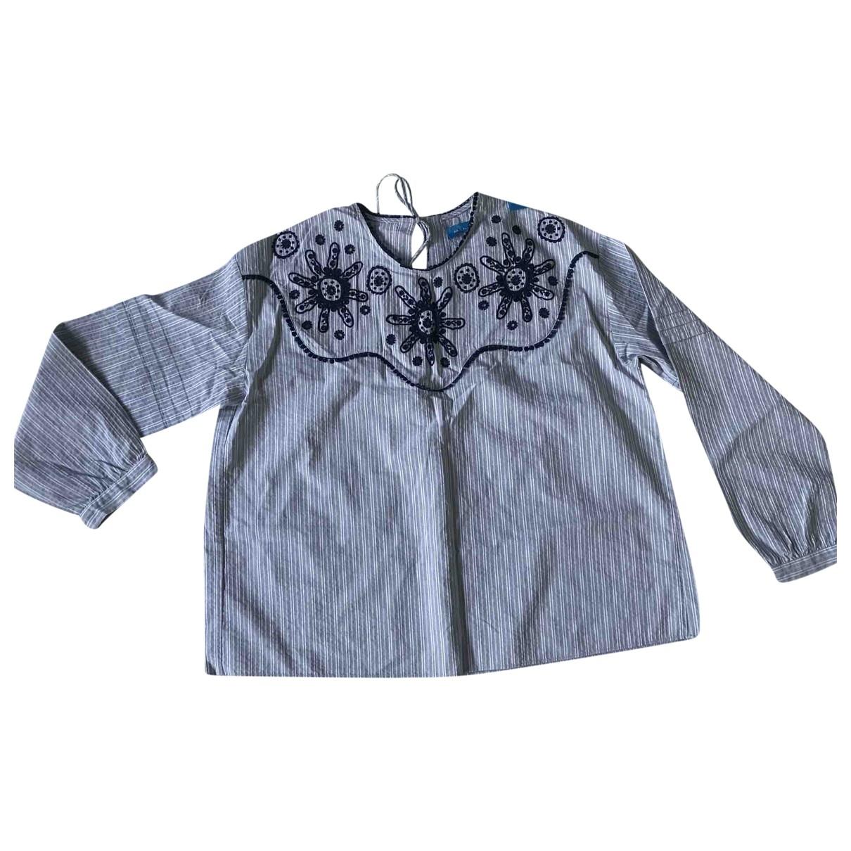 Mih Jeans \N Top in  Blau Baumwolle