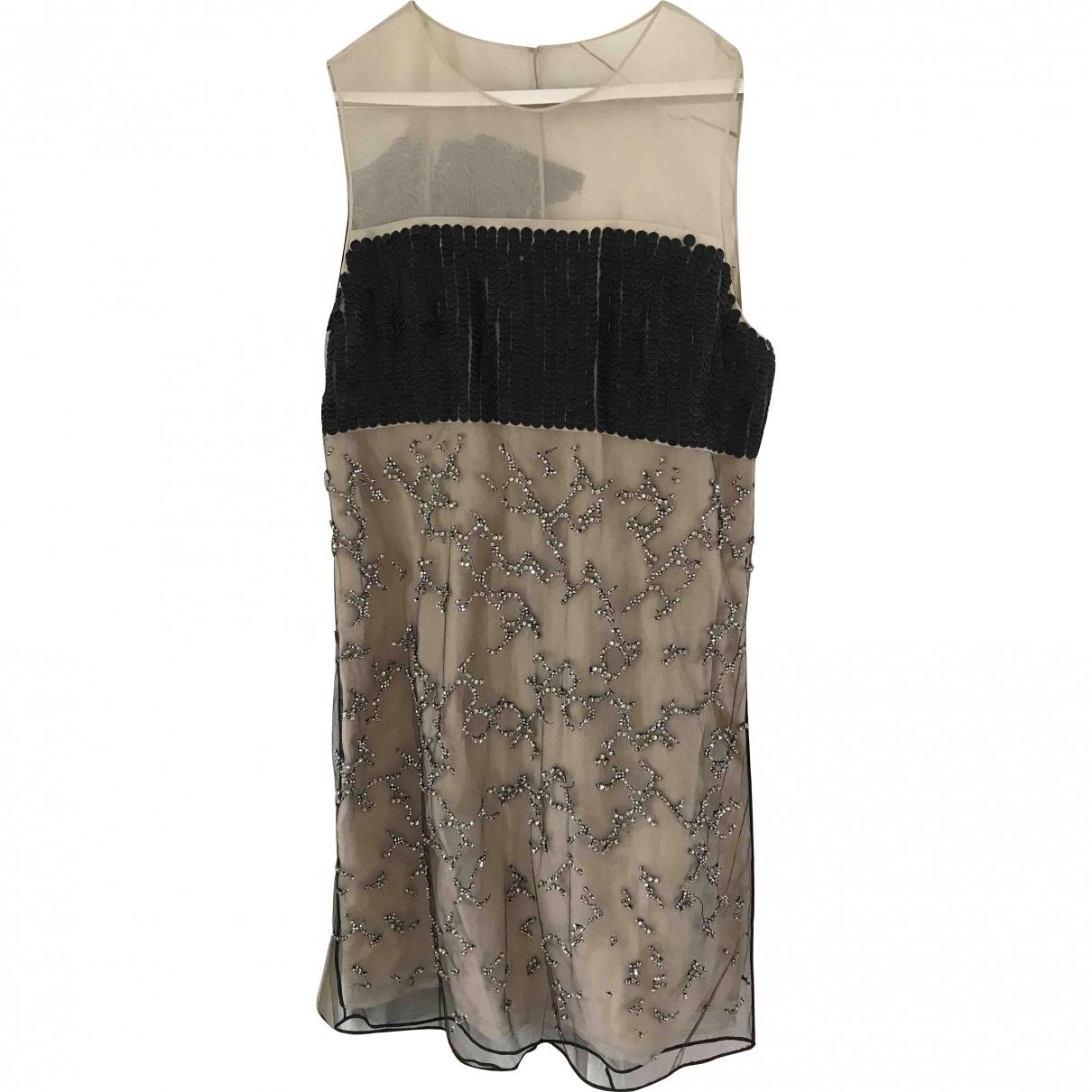 3.1 Phillip Lim \N Kleid in  Beige Seide