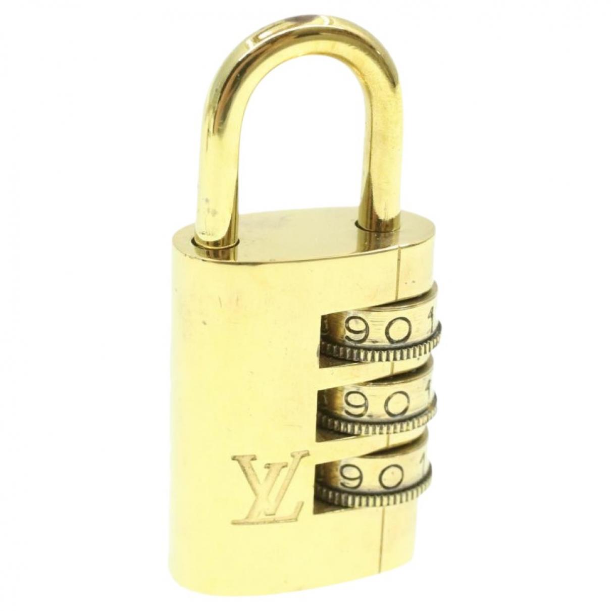 Louis Vuitton - Collier   pour femme en metal - dore