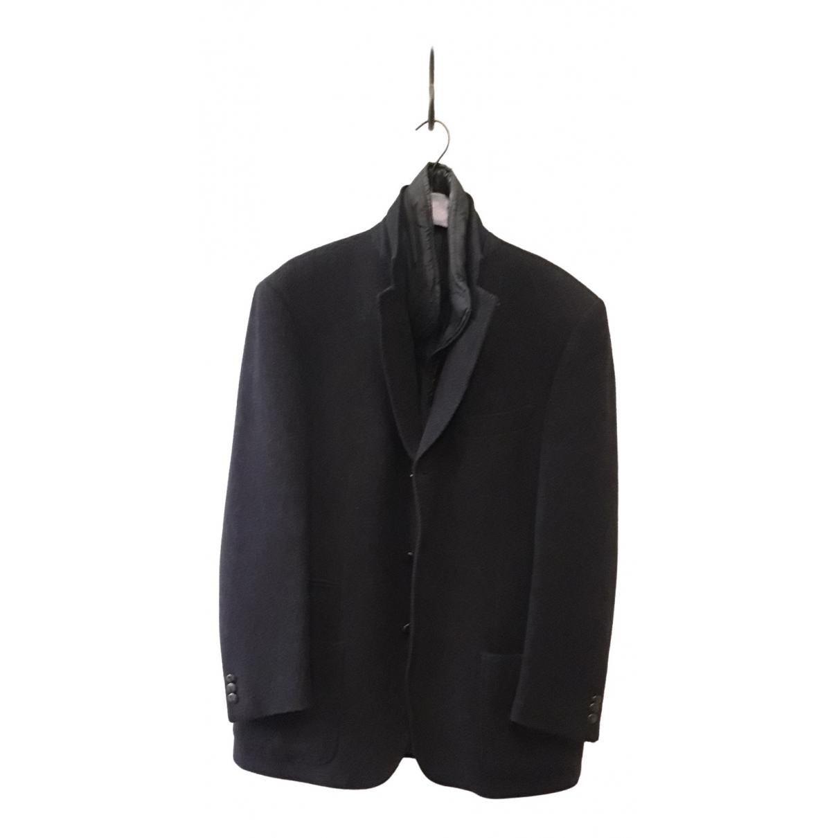 Fay N Blue Wool jacket  for Men 48 IT
