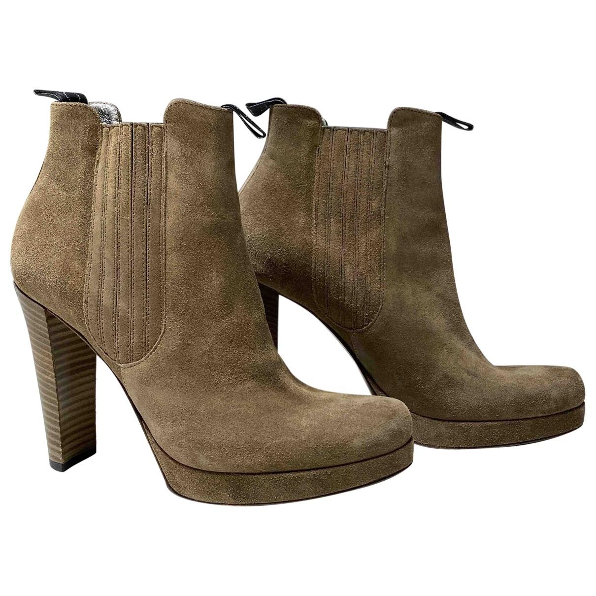 Free Lance - Boots   pour femme en suede