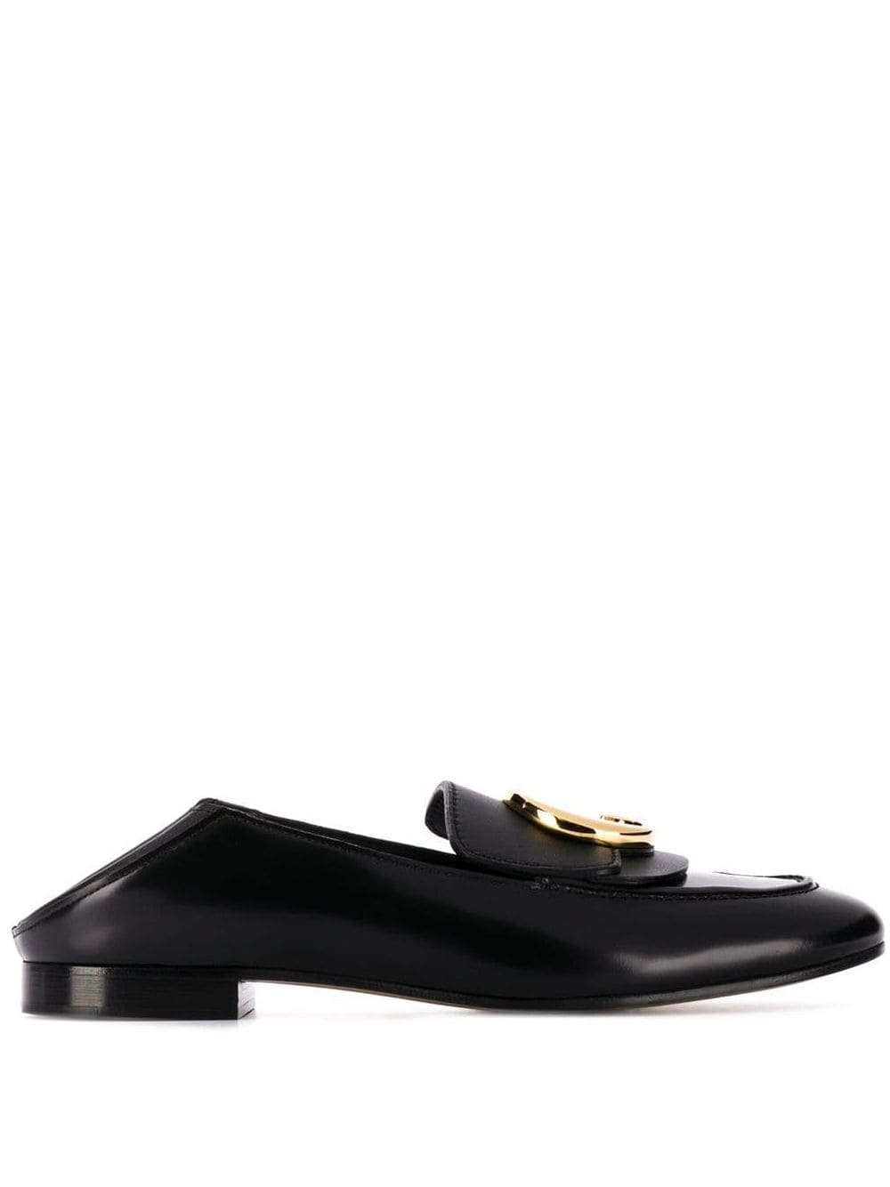 C Leather Loafers