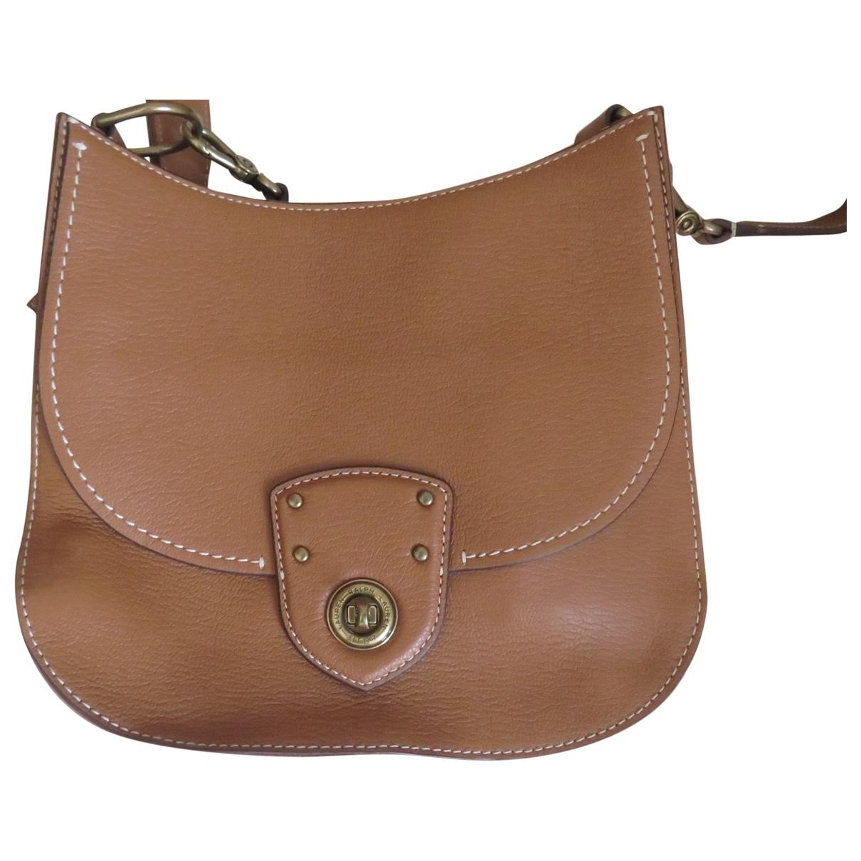 Lauren Ralph Lauren \N Camel Leather handbag for Women \N