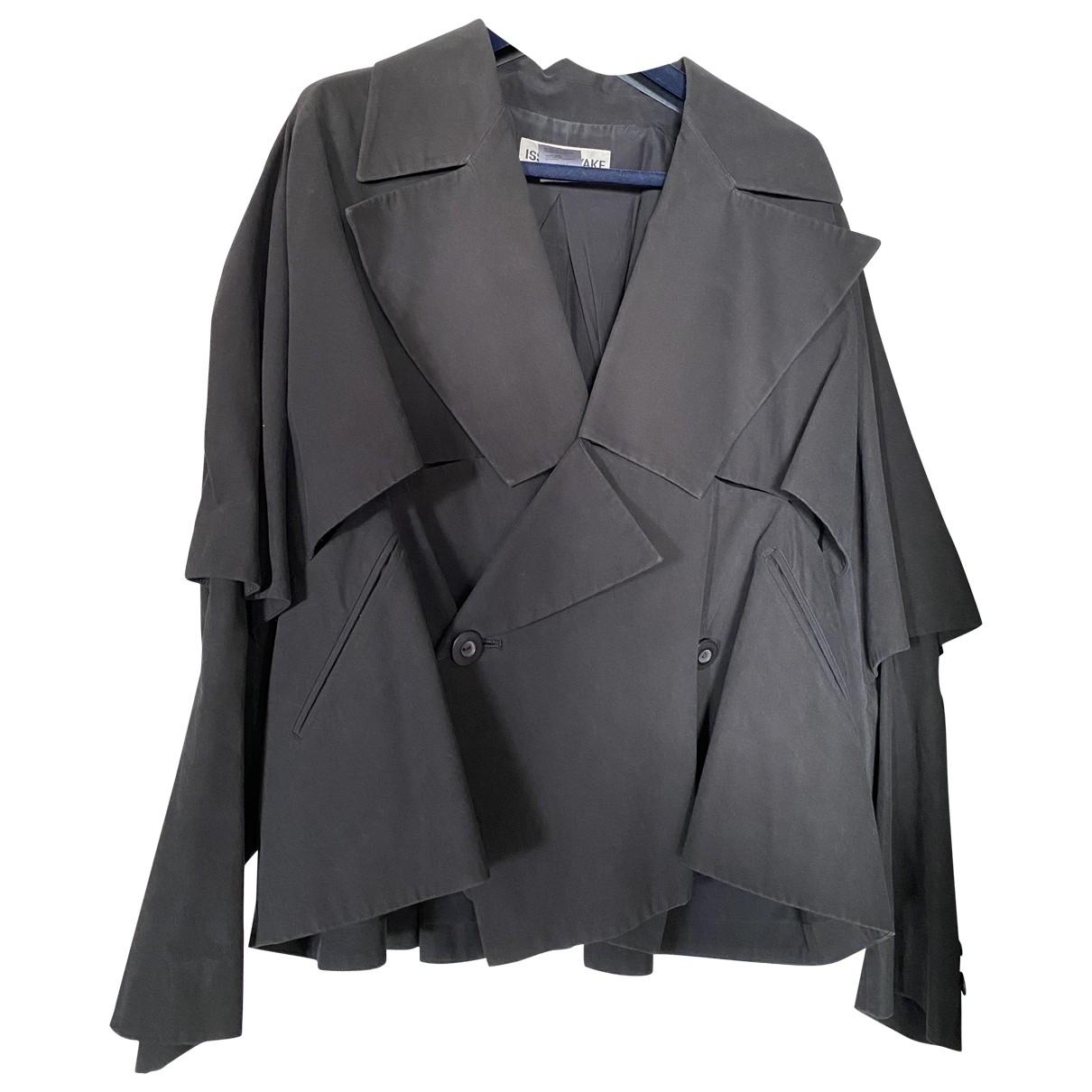 Issey Miyake - Veste   pour femme en coton - noir