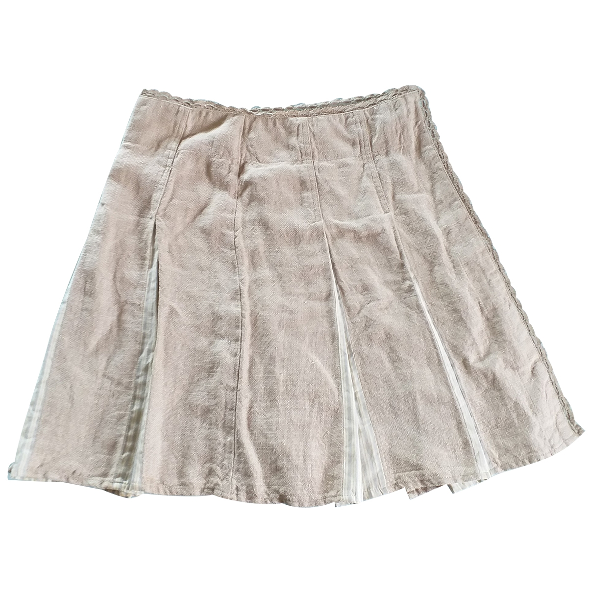 Max & Co \N Multicolour Linen skirt for Women 38 IT