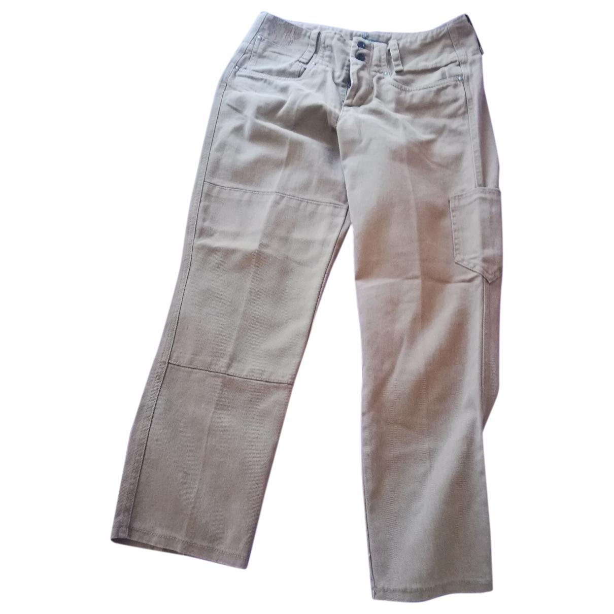 Golden Goose - Pantalon   pour femme en coton - marron