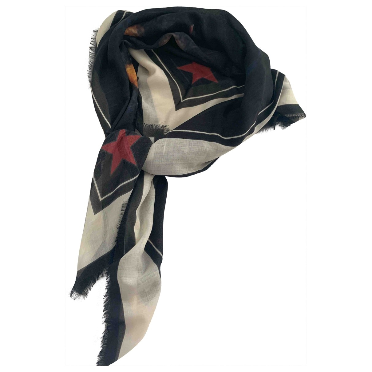Givenchy - Foulard   pour femme en soie - noir