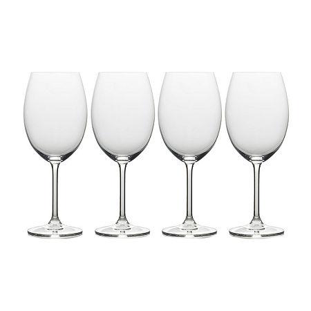 Mikasa Julie Bordeaux 4-pc. Drinkware Set, One Size , Multiple Colors
