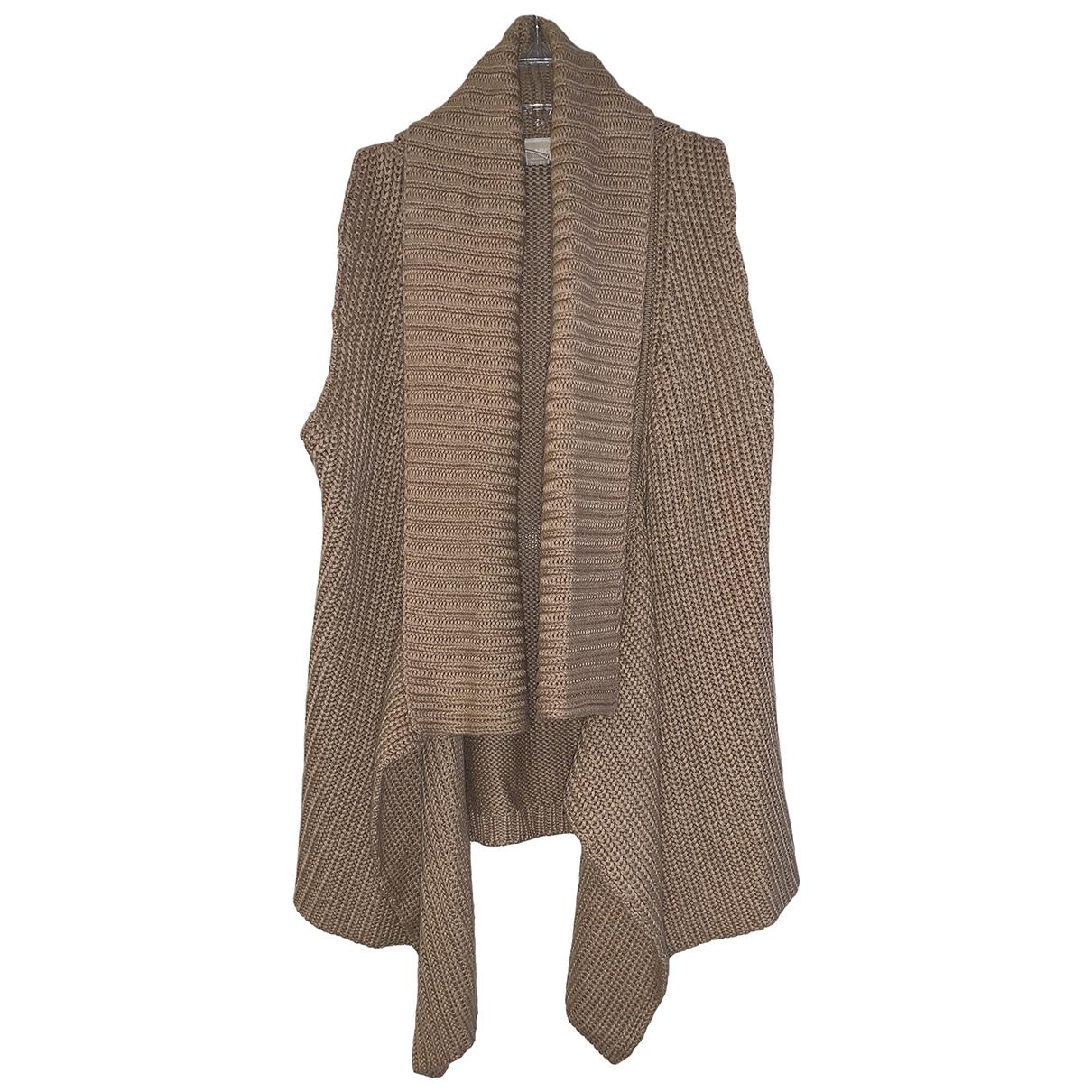 Michael Kors - Pull   pour femme en laine - camel